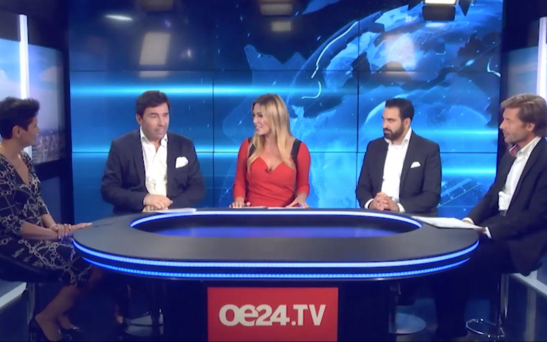 """oe24TV-Diskussionsrunde: """"Wohntrend"""""""